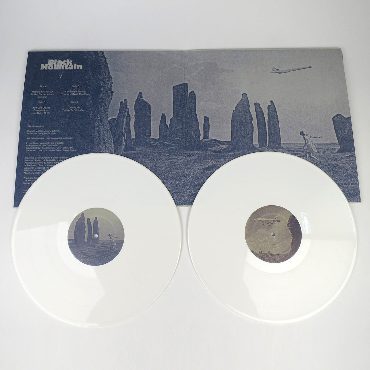 Black Mountain: IV White Vinyl LP