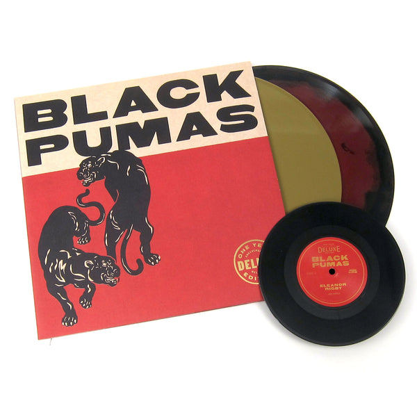 Black Pumas: Black Pumas - Deluxe Edition (Colored Vinyl) Vinyl 2LP+7""