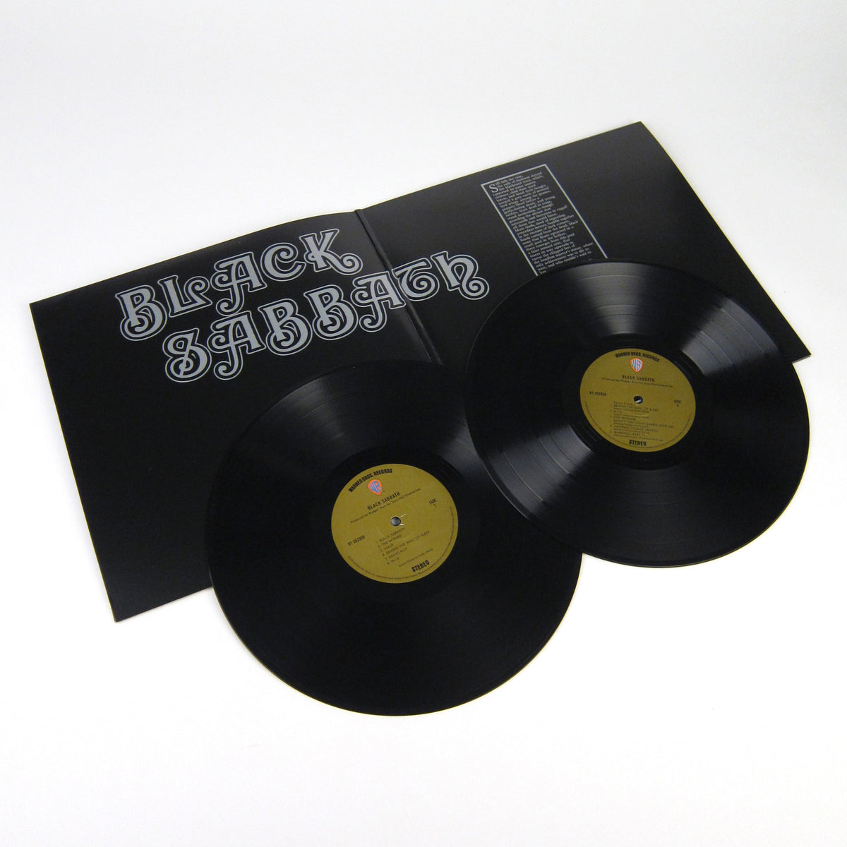 Black Sabbath: Black Sabbath (180g) Vinyl 2LP