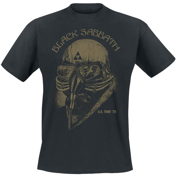 Black Sabbath: US Tour 78 Shirt - Black