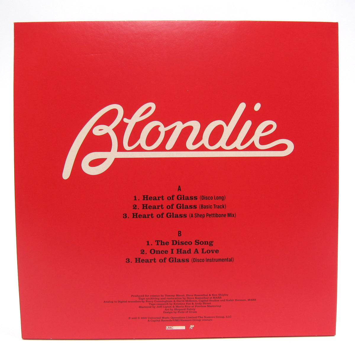 Blondie: Heart Of Glass Vinyl 12""