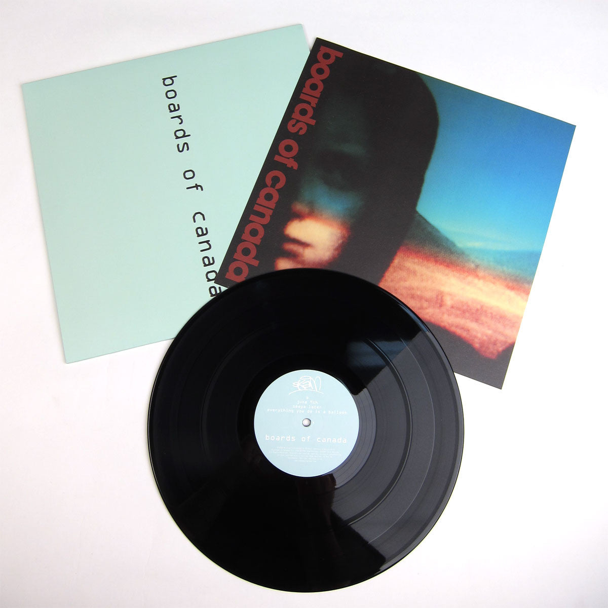 "Boards Of Canada: Hi Scores Vinyl 12"" laydown"