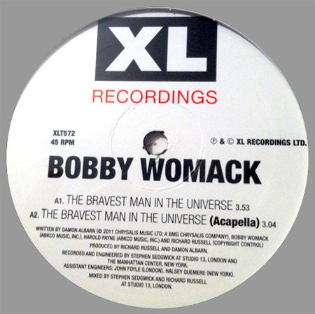 Bobby Womack: The Bravest Man In The World 12""