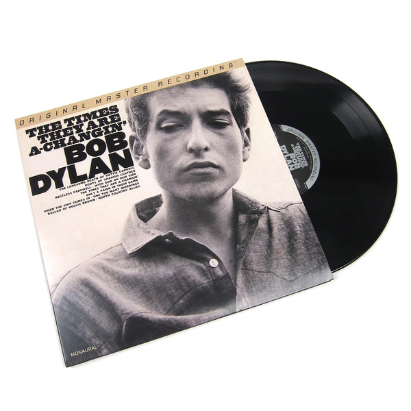 Bob Dylan: The Times They Are A-Changin' (Mono, 180g, 45rpm) Vinyl 2LP