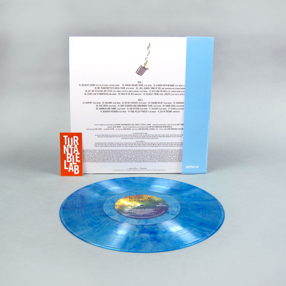 Bojack Horseman: Music From The Netflix Original Series (Colored Vinyl) Vinyl LP - Turntable Lab Exclusive
