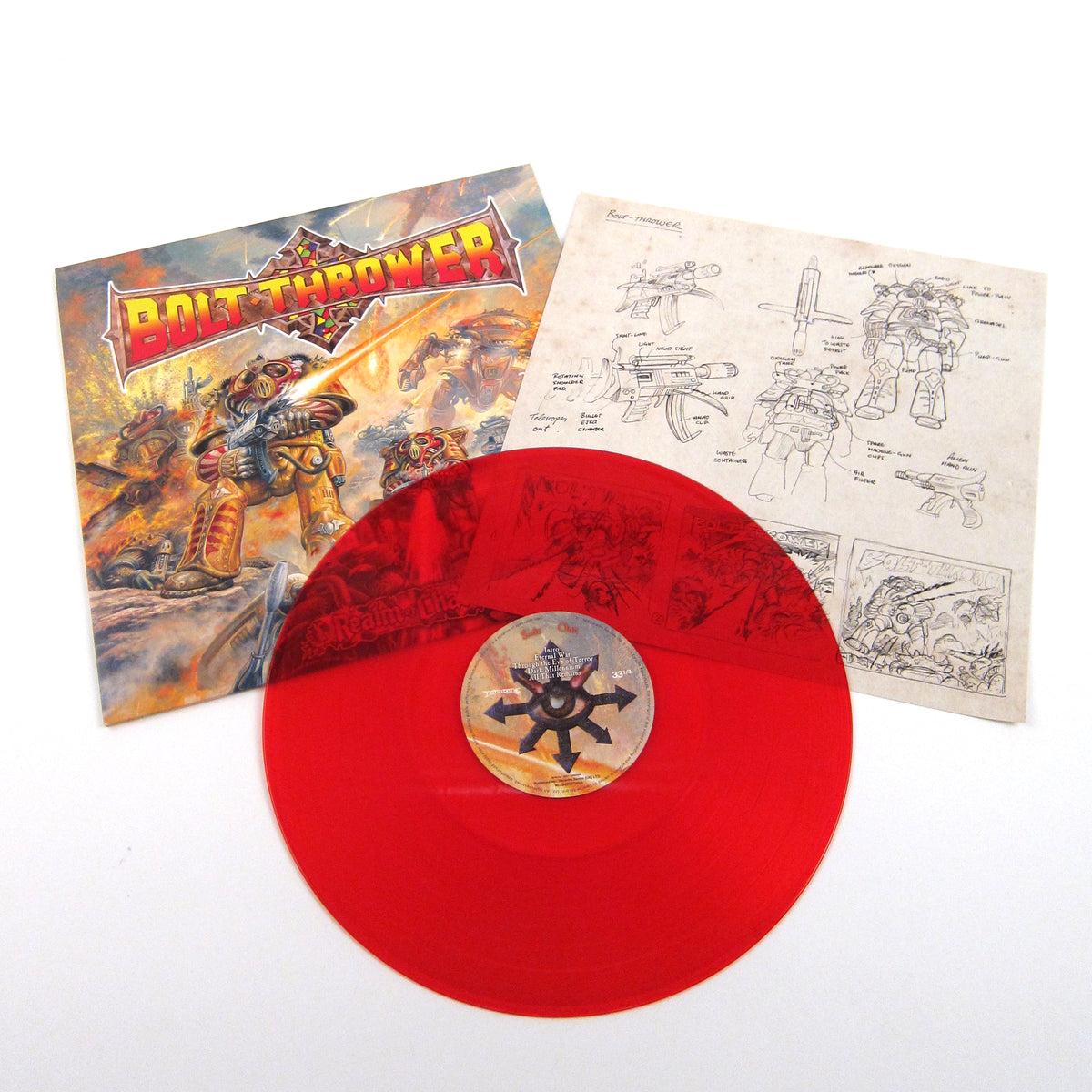 Bolt Thrower: Realm Of Chaos (Colored Vinyl) Vinyl LP