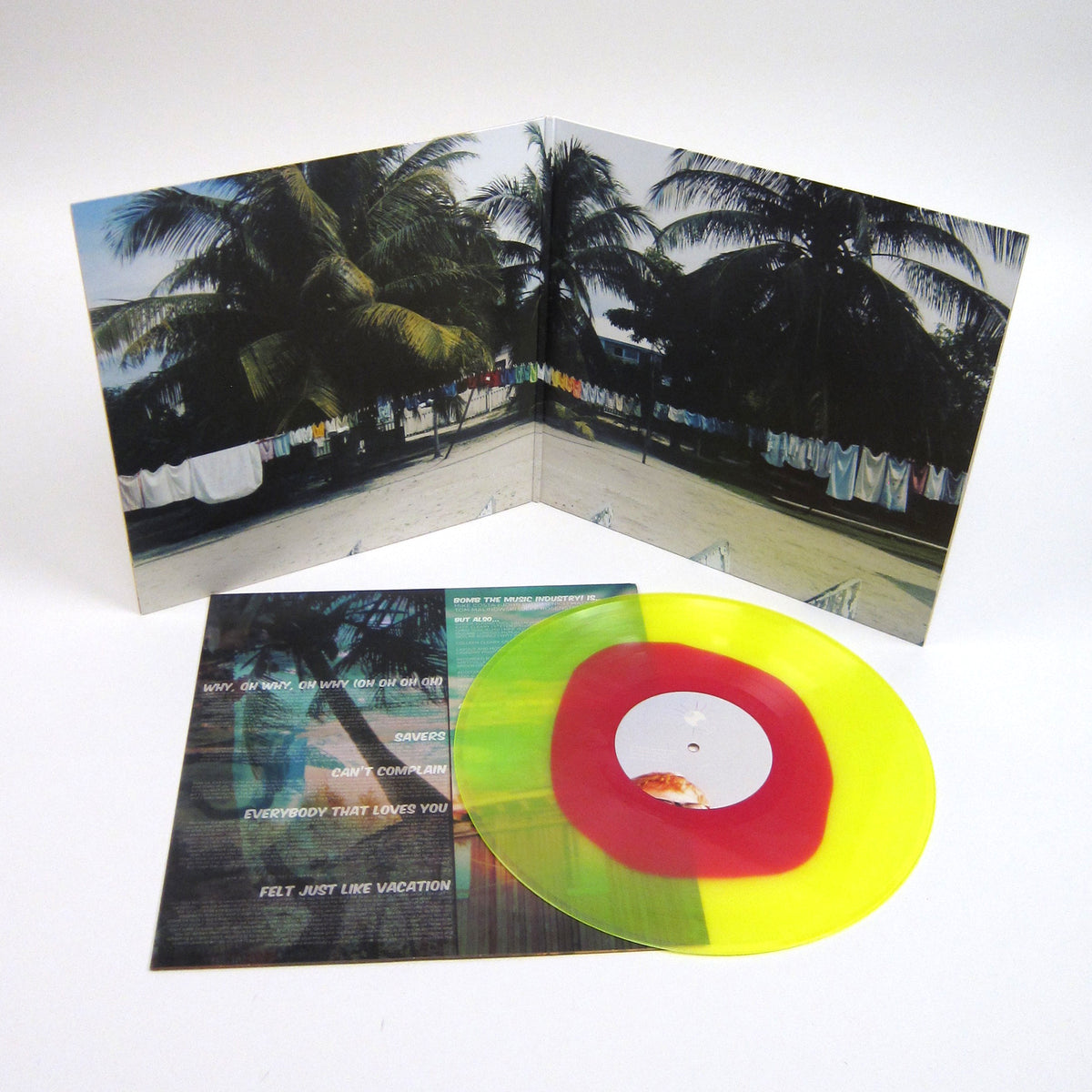 Bomb the Music Industry!: Vacation (Colored Vinyl) Vinyl LP