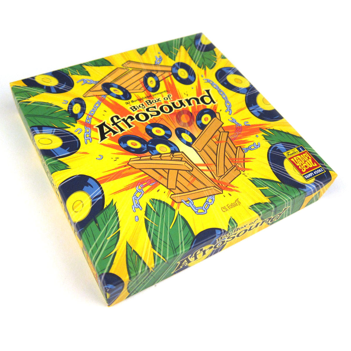 "Vampi Soul: DJ Bongo Head Presents Big Box Of Afrosound Vinyl 10x7"" Boxset"