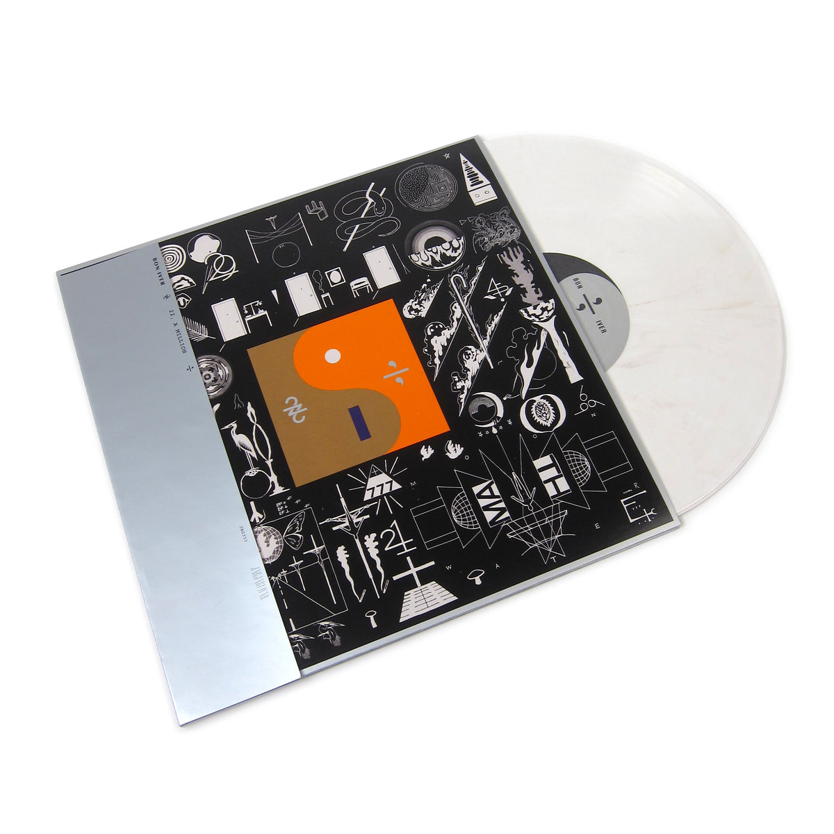 Bon Iver: 22, A Million (Bone Colored Vinyl) Vinyl LP - Turntable Lab Exclusive