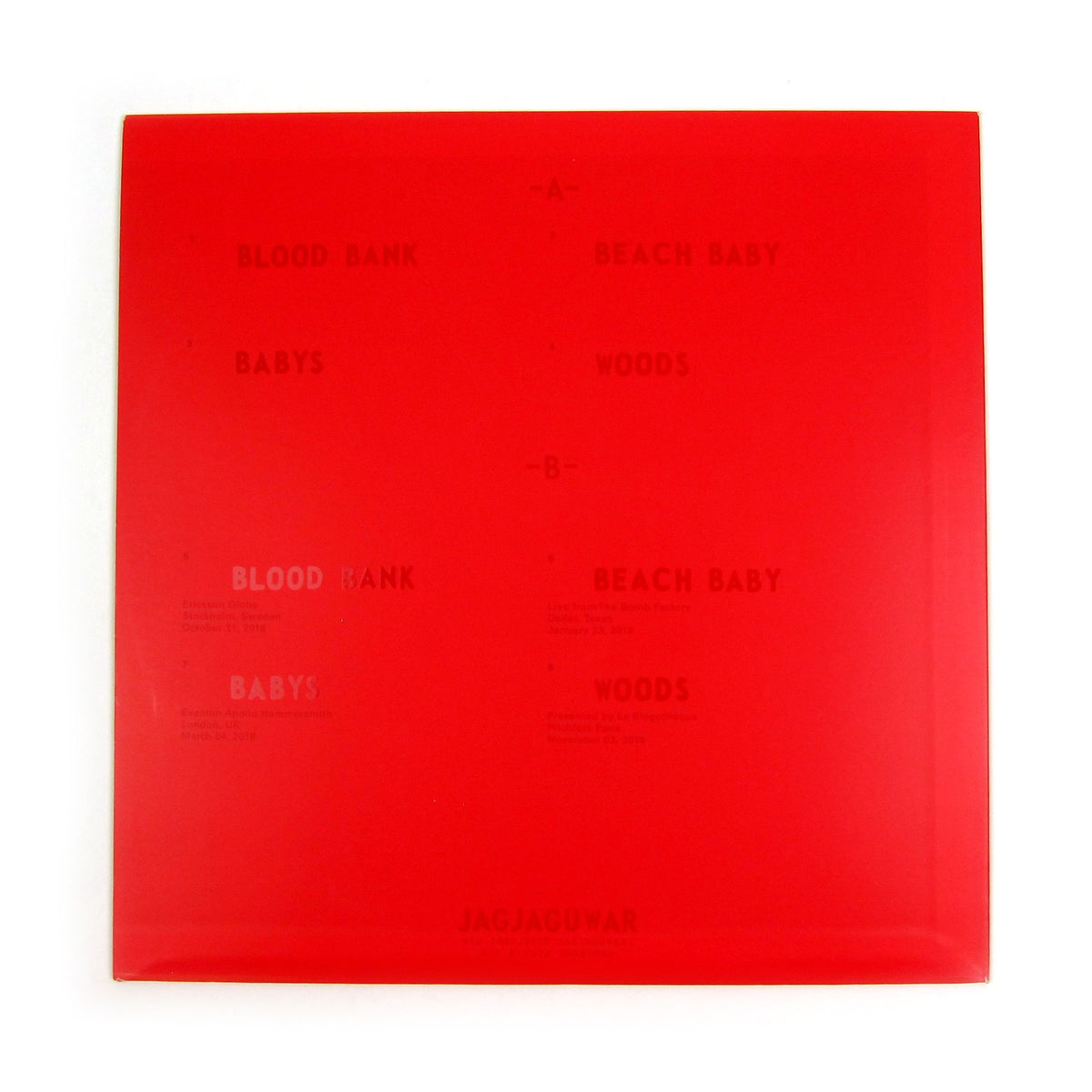 Bon Iver: Blood Bank - 10th Anniversary Edition (Colored Vinyl) Vinyl LP