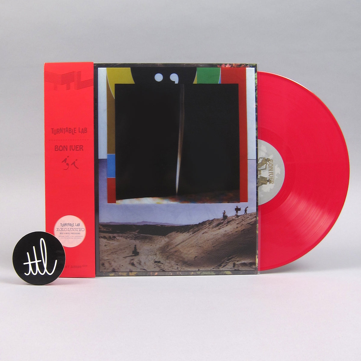 Bon Iver: i,i (Red Colored Vinyl) Vinyl LP - Turntable Lab Exclusive