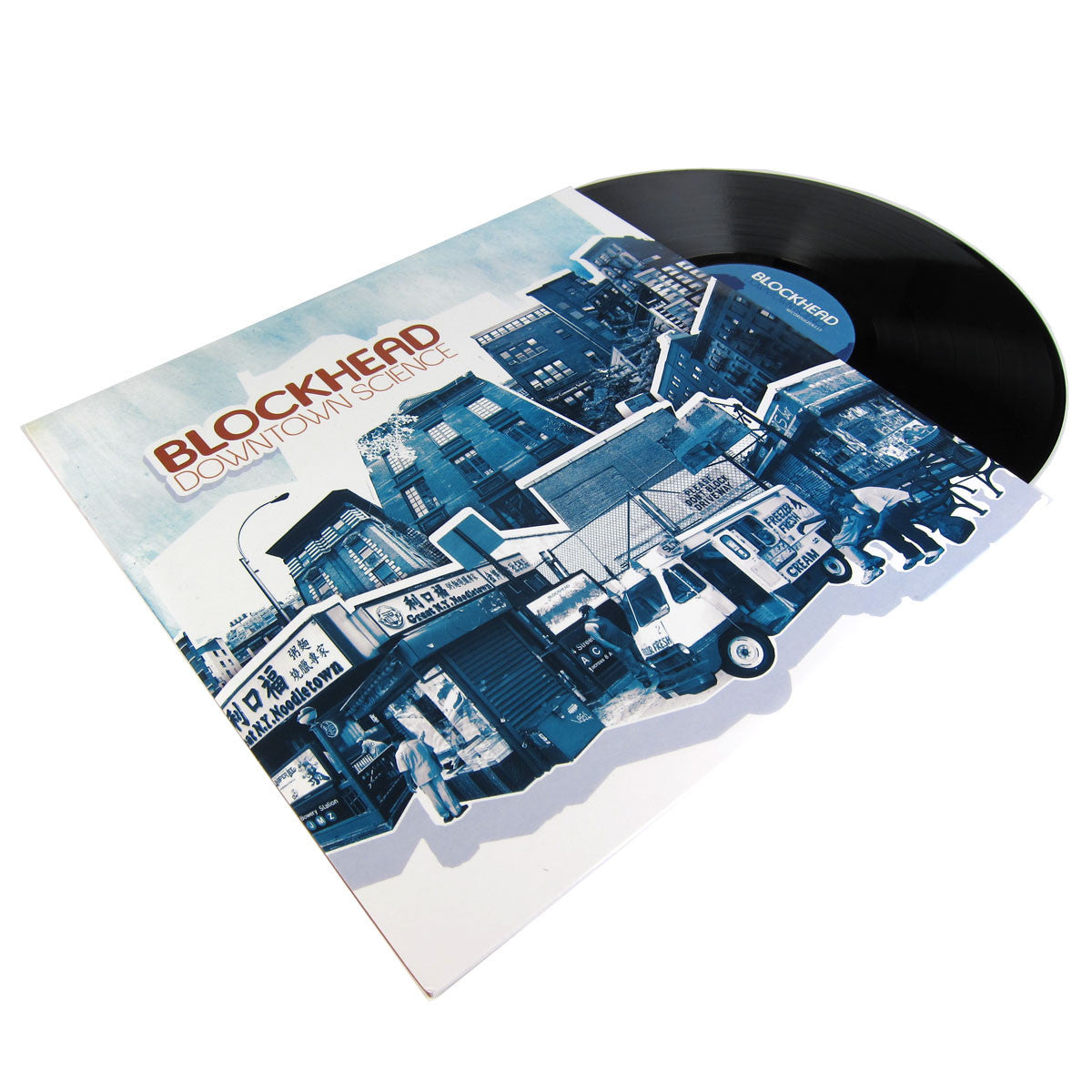 Blockhead: Downtown Science (Free MP3) Vinyl 2LP