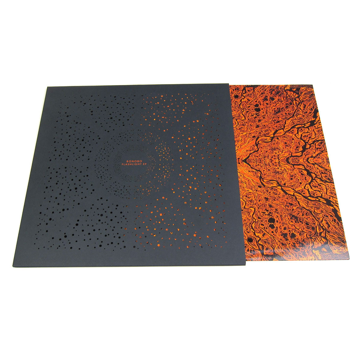 "Bonobo: Flashlight EP (Diecut Sleeve) Vinyl 12"" detail"