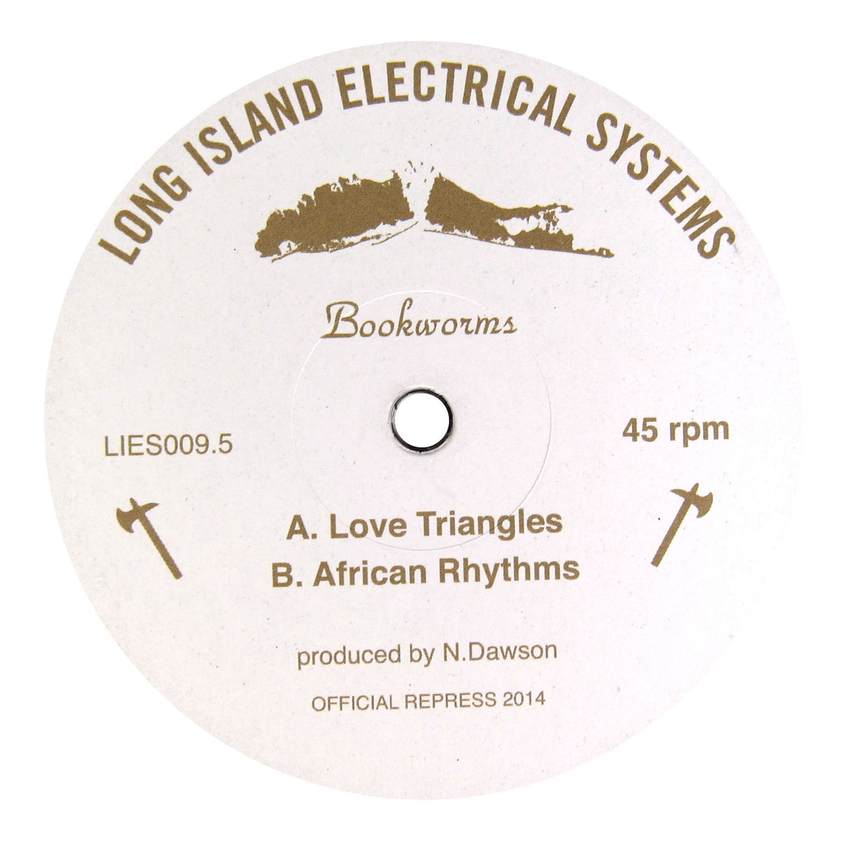 Bookworms: Love Triangles Vinyl 12""