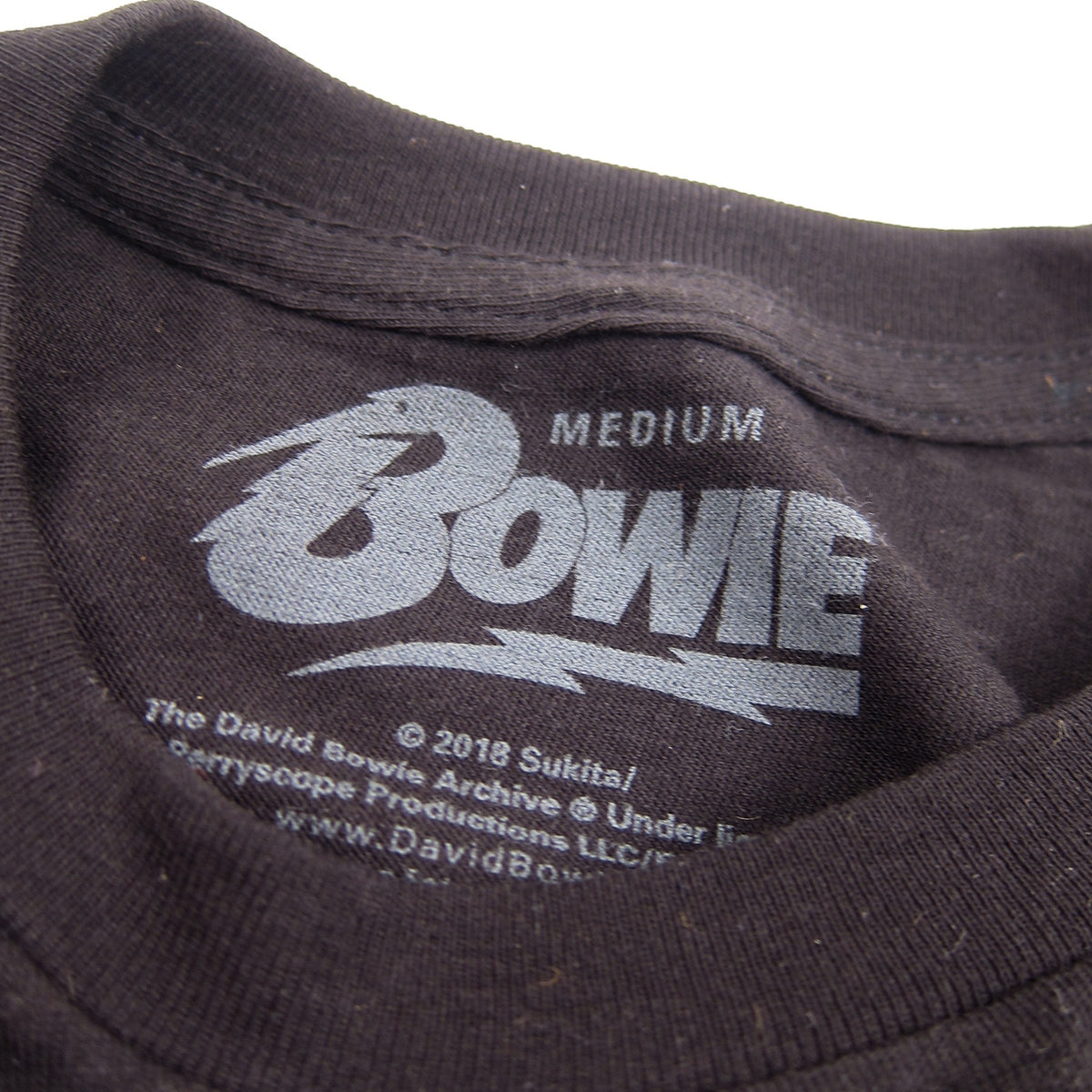 David Bowie: Space Oddity Shirt - Black