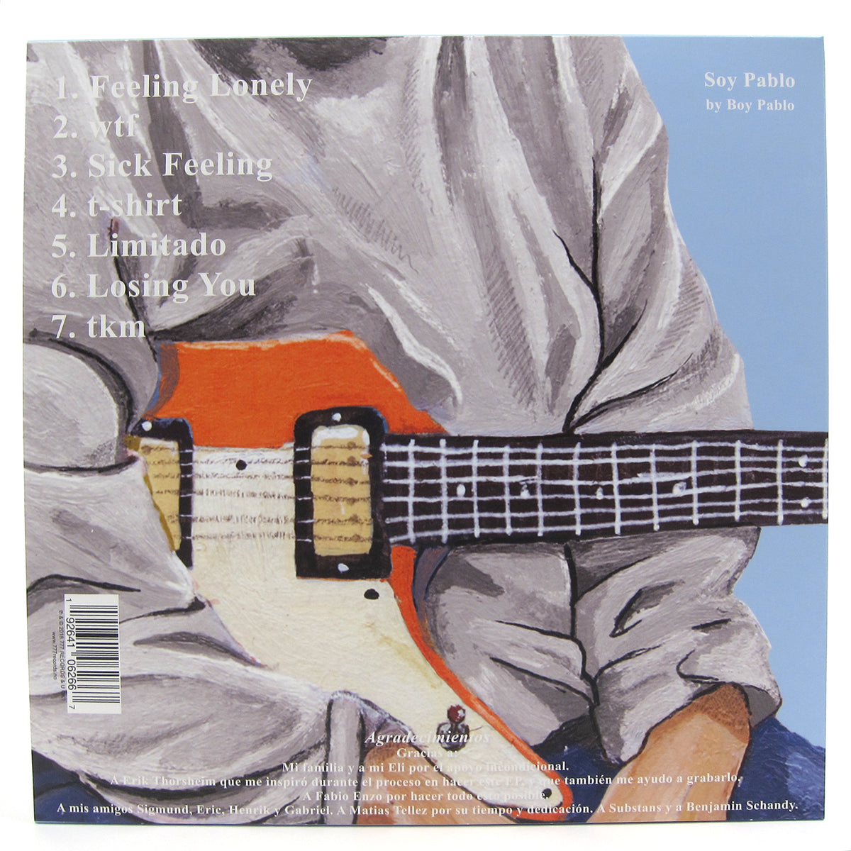 Boy Pablo: Soy Pablo (Colored Vinyl) Vinyl LP