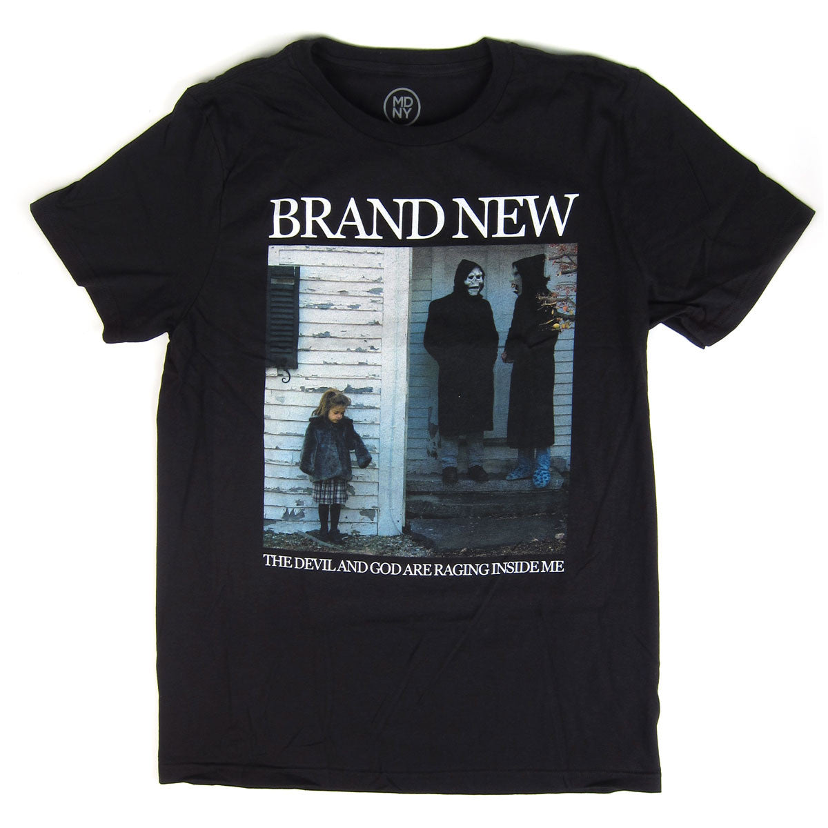 Brand New: The Devil And God Are Raging Inside Me Shirt - Black
