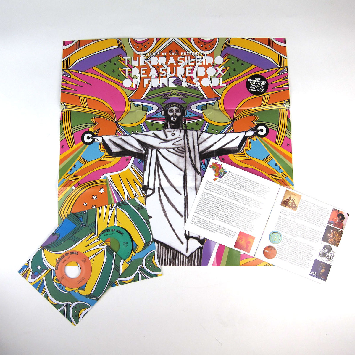 "Cultures Of Soul: The Brasileiro Treasure Box Of Funk & Soul 7x7"" Boxset"