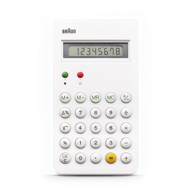 Braun: ET 66 Calculator (BN-ET66WH) - White