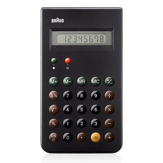 Braun: ET66 Calculator by Dieter Rams Straight