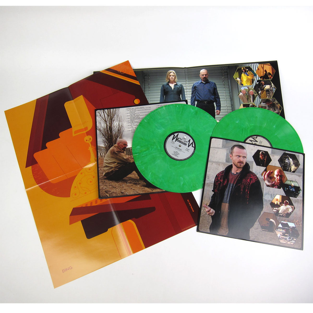 Dave Porter: Breaking Bad OST Vol.2 (Green Vinyl, Free Poster) Vinyl 2LP detail