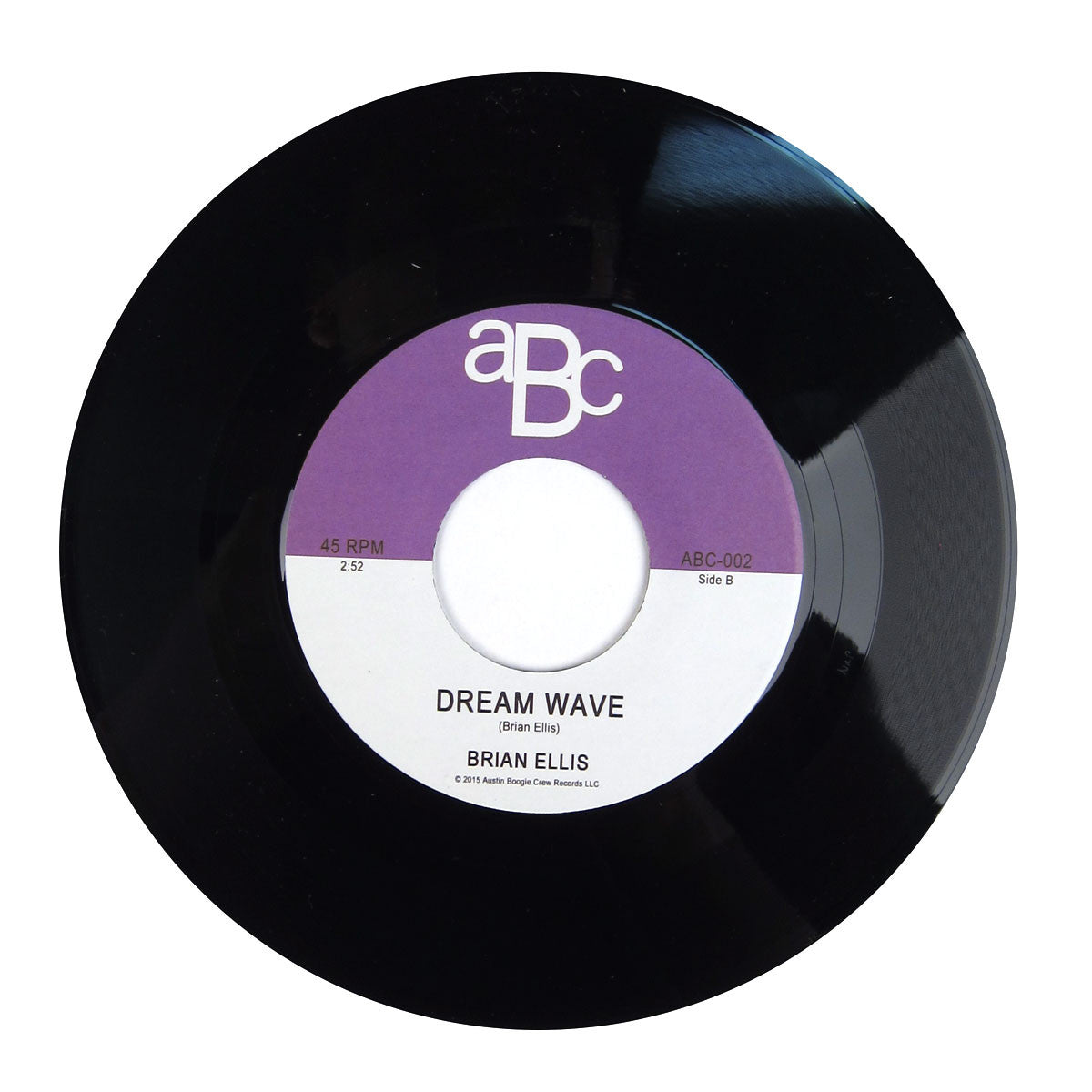Brian Ellis: Peg / Dream Wave (Steely Dan) Vinyl 7""