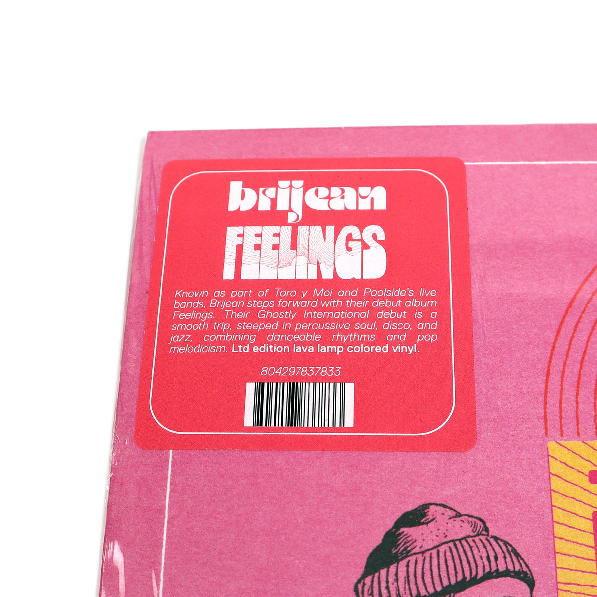 Brijean: Feelings (Indie Exclusive Colored Vinyl)