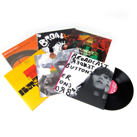 Broadcast: Vinyl LP Album Pack