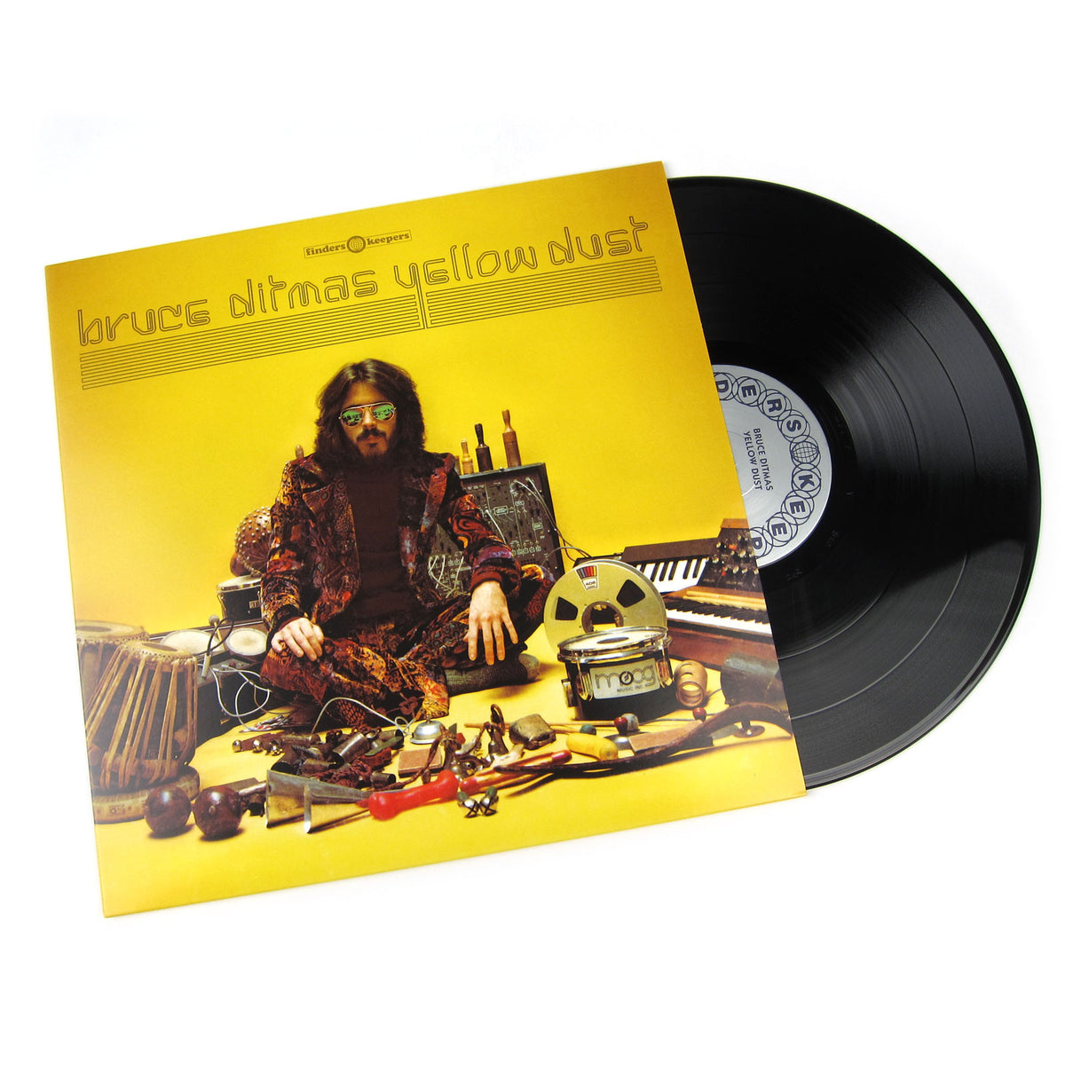 Bruce Ditmas: Yellow Dust Vinyl LP
