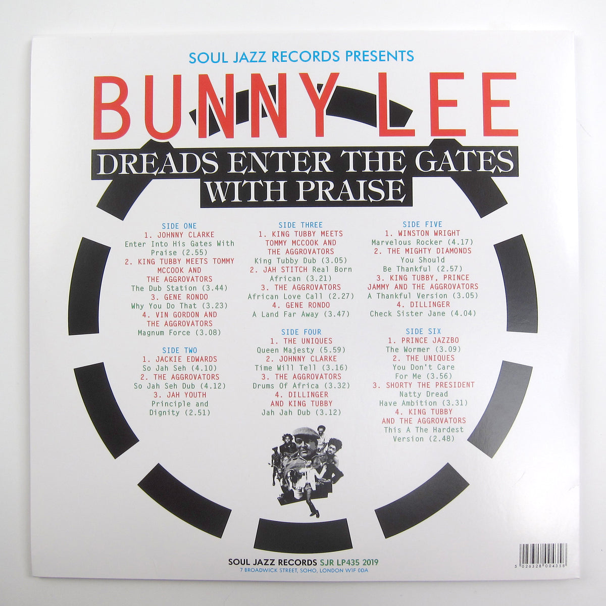 Bunny Lee: Soul Jazz Records Presents Bunny Lee - Dreads Enter The Gates With Praise Vinyl 3LP