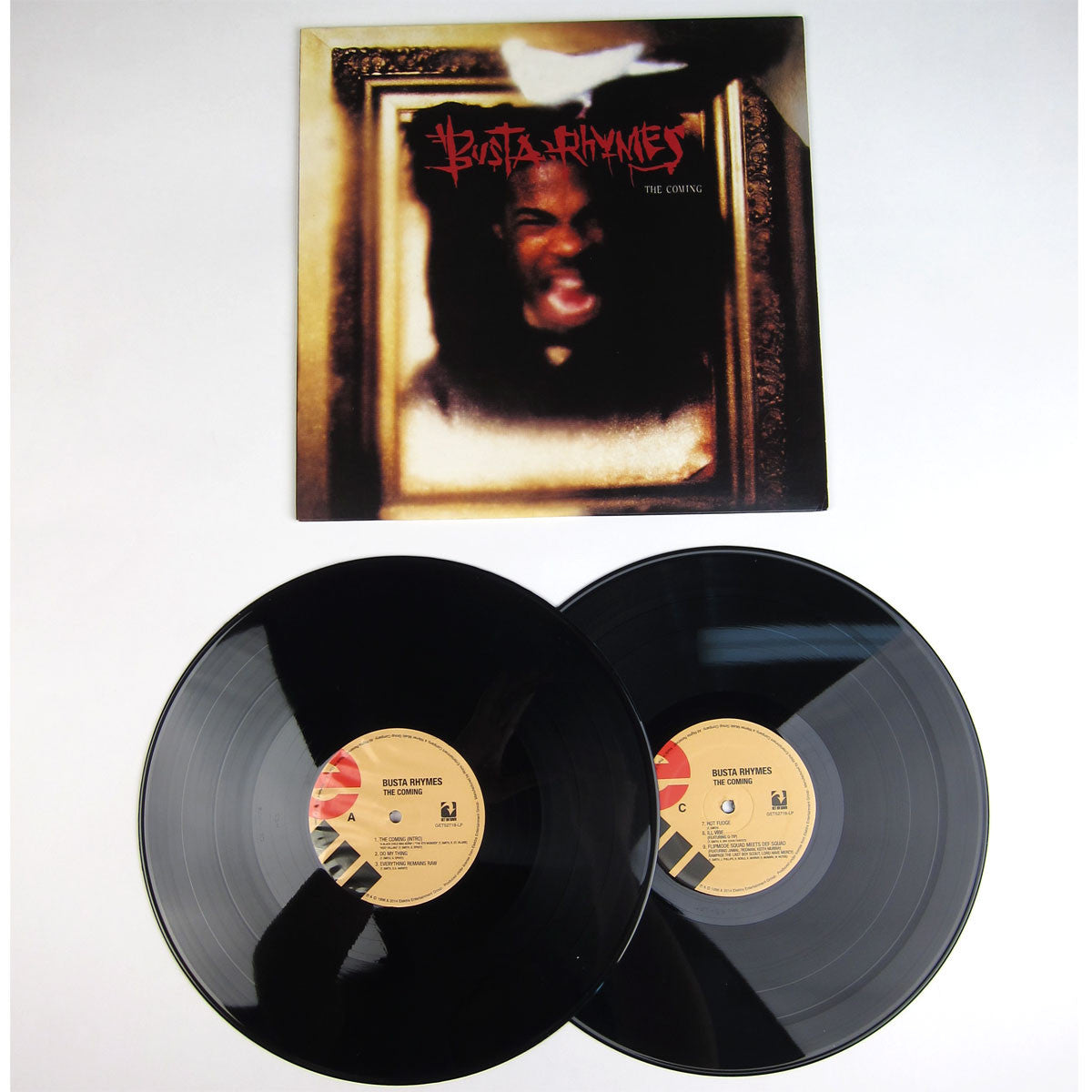 Busta Rhymes : The Coming Vinyl 2LP detail