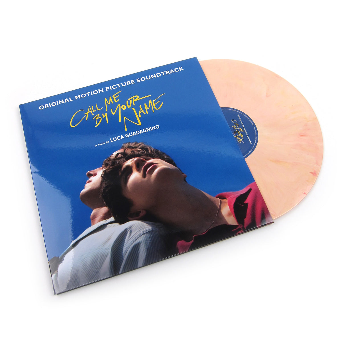 Call Me By Your Name: Call Me By Your Name Soundtrack (Music On Vinyl 180g, Peach Colored Vinyl) Vinyl 2LP