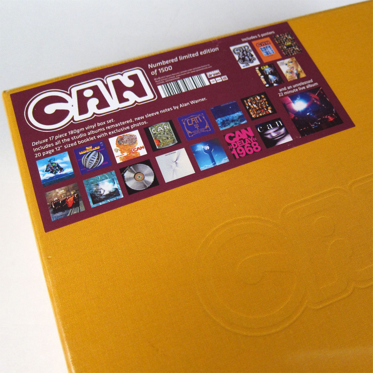 Can: Can - Deluxe 17 Piece 180g Vinyl Box Set detail