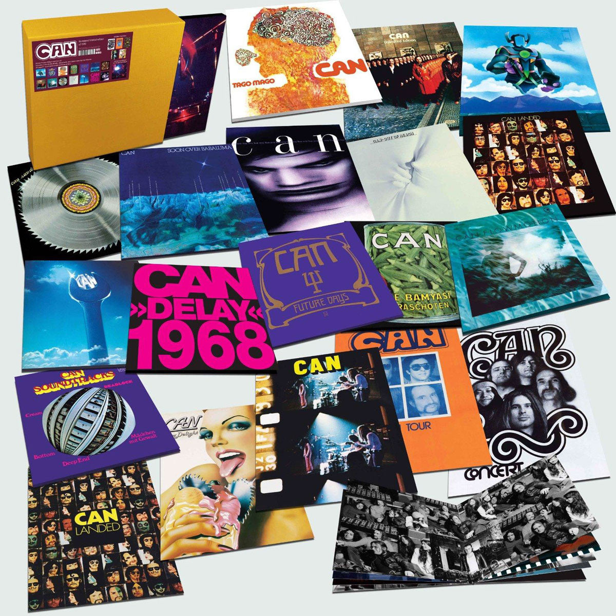 Can: Can - Deluxe 17 Piece 180g Vinyl Box Set