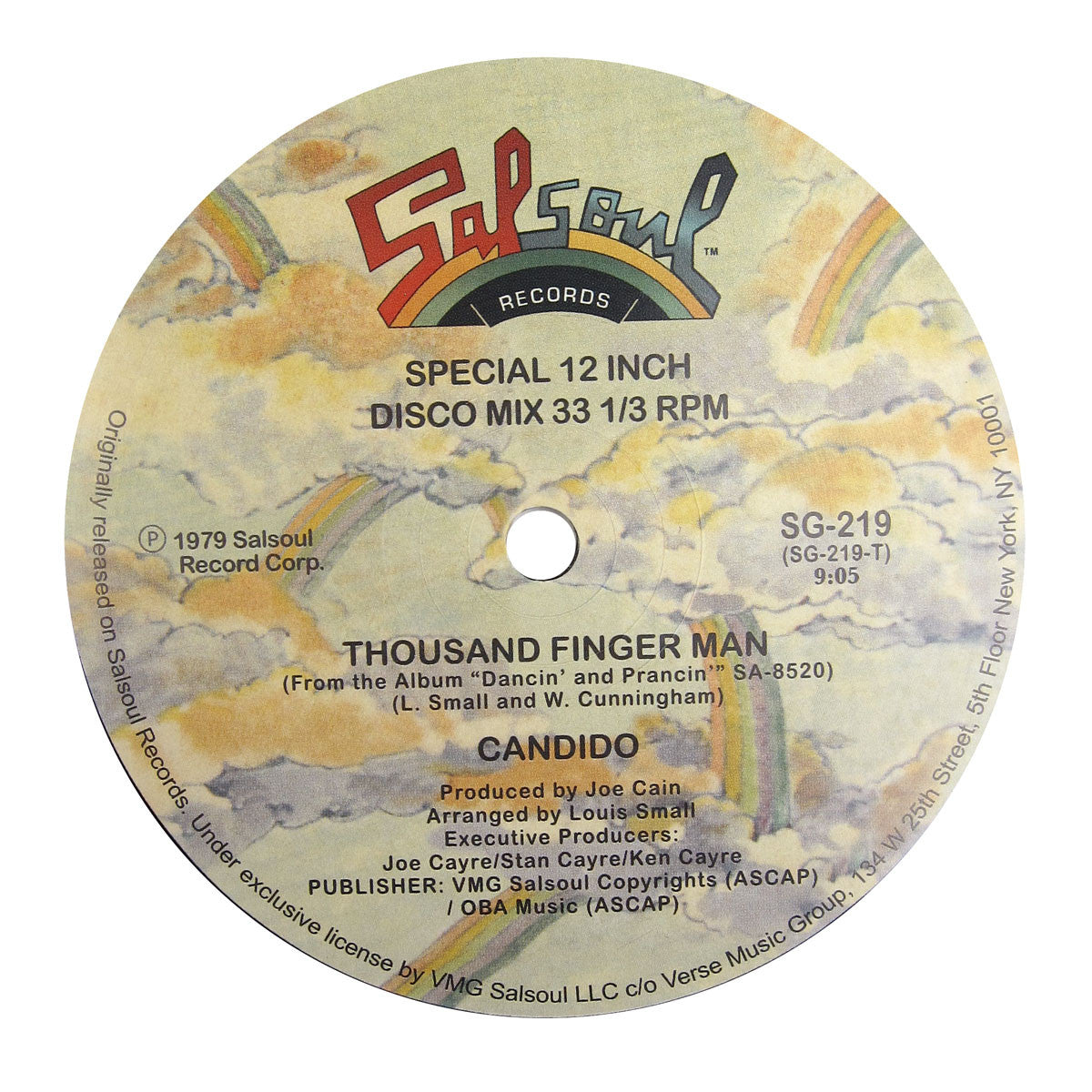 Candido: Jingo / Thousand Finger Man Vinyl 12""