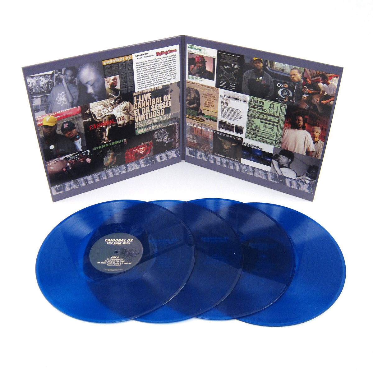Cannibal Ox: The Cold Vein Deluxe Edition (Colored Vinyl) Vinyl 4LP