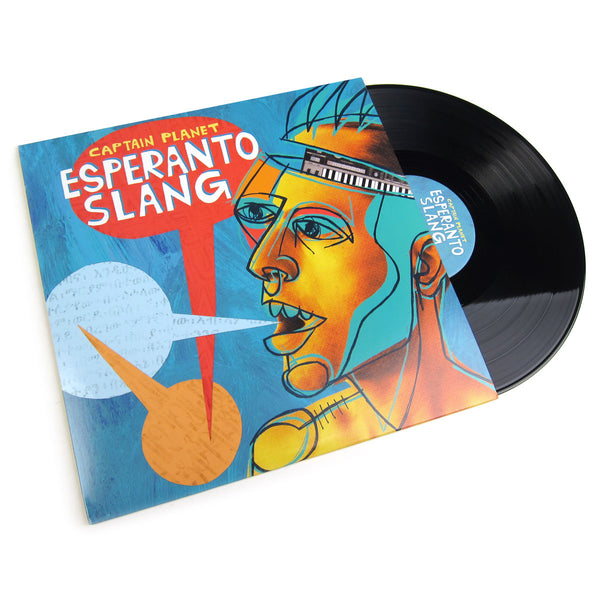 Captain Planet: Esperanto Slang Vinyl LP