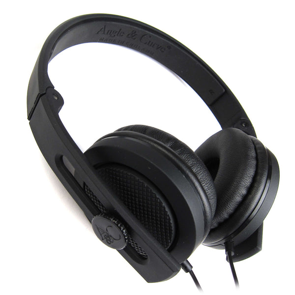 Angle & Curve: Carboncans Headphones - Black
