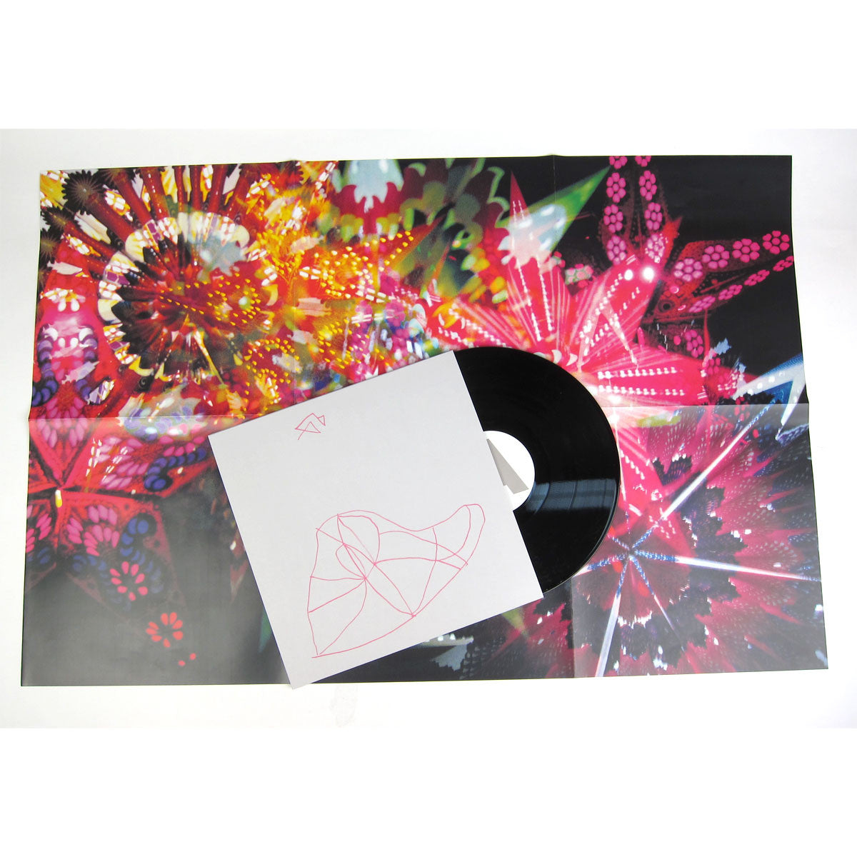 Caribou Vibration Ensemble: CVE Live 2011 (Four Tet, James Holden) Vinyl LP detail