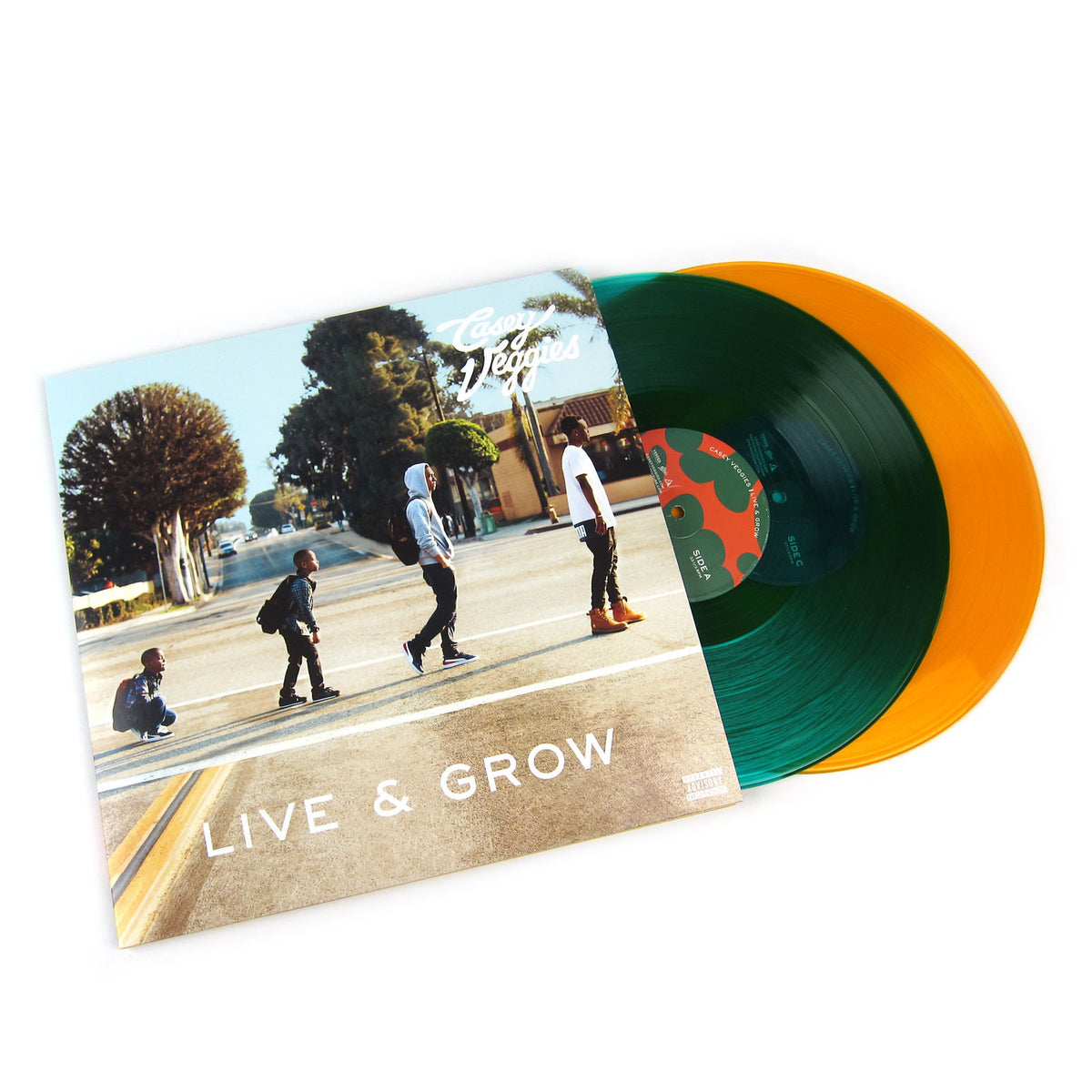 Casey Veggies: Live & Grow (Colored Vinyl) Vinyl LP