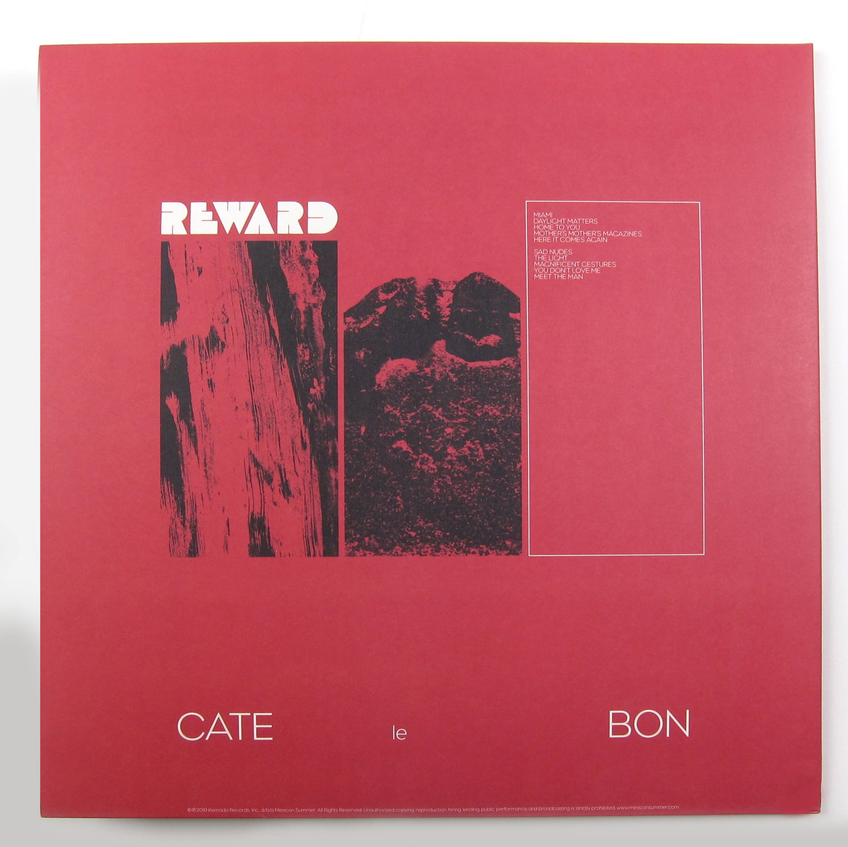 Cate Le Bon: Reward (Indie Exclusive Colored Vinyl) Vinyl LP