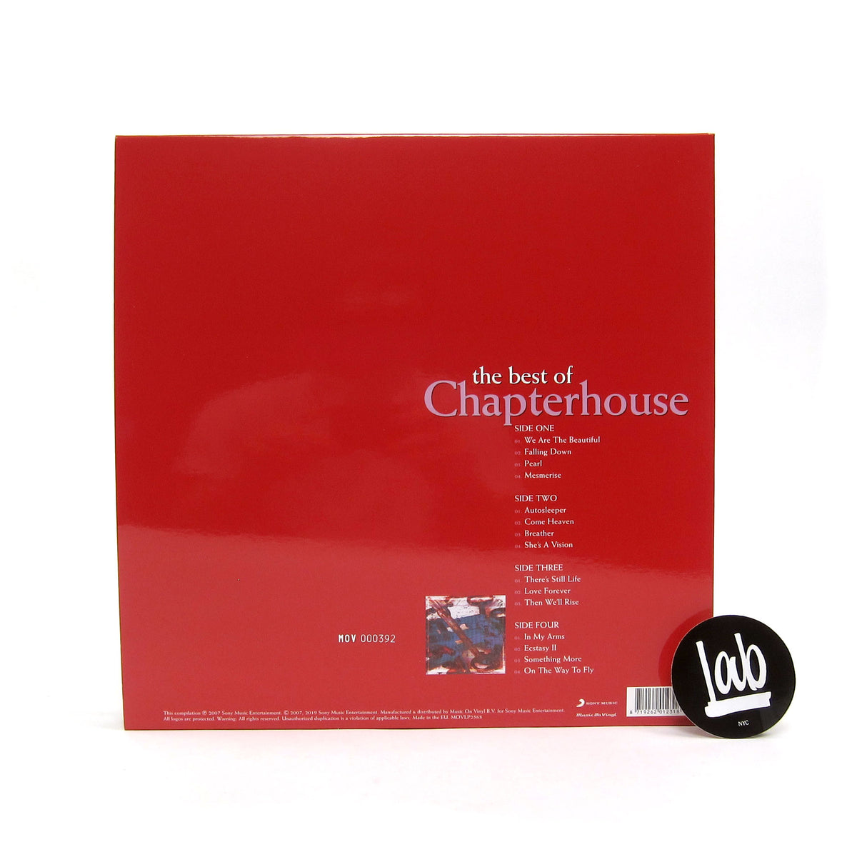 Best Of Chapterhouse (Music On Vinyl 180g Colored Vinyl)