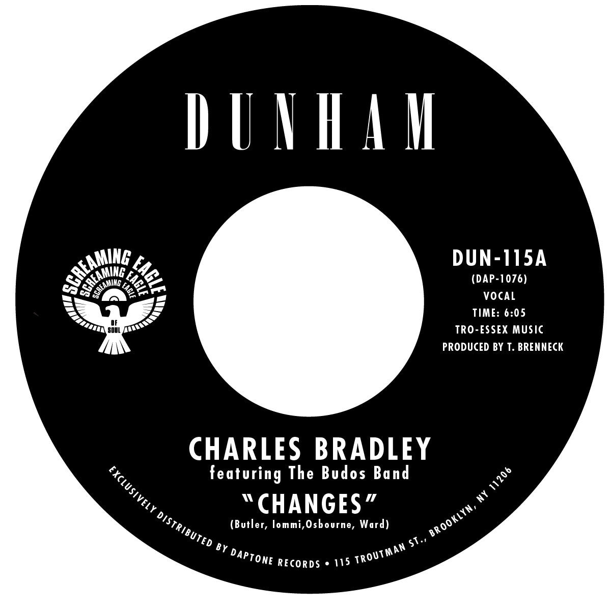 Charles Bradley: Changes / Ain't It A Sin 7""