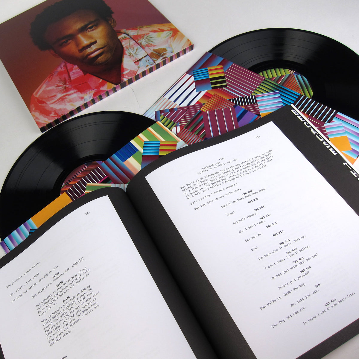 Childish Gambino: Because The Internet Vinyl 2LP