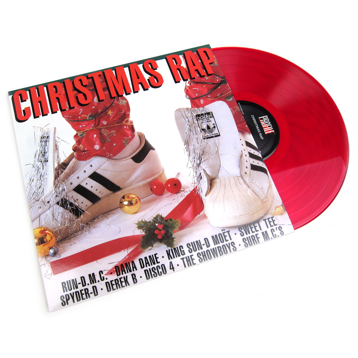 Profile Records: Christmas Rap (Colored Vinyl) Vinyl LP (Record Store Day)