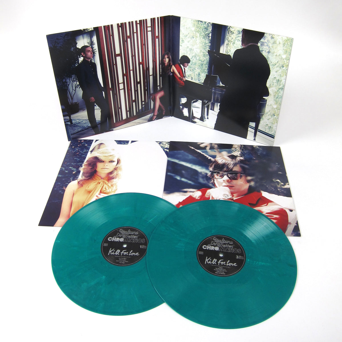 Chromatics: Kill For Love - 5 Year Anniversary Edition (Green Marble Colored Vinyl) Vinyl 2LP