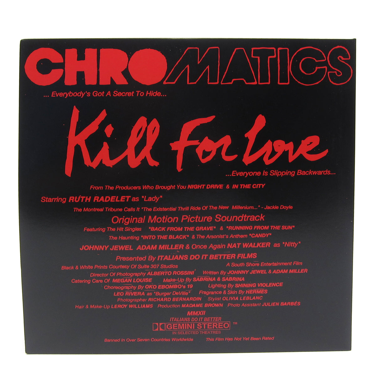 Chromatics: Kill For Love - 5 Year Anniversary Edition (Pink Colored Vinyl) Vinyl 2LP