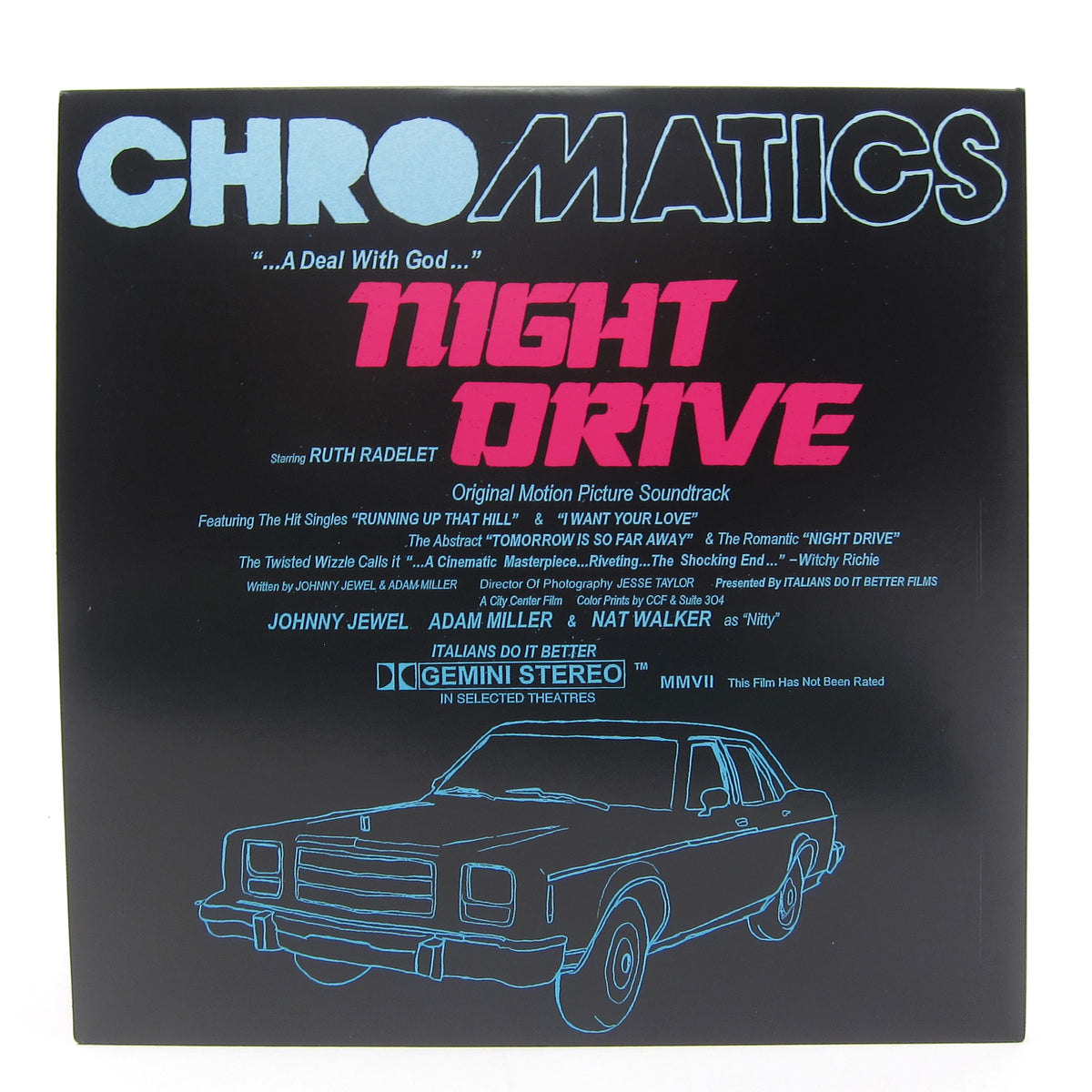 Chromatics: Night Drive Ten Year Remastered Edition (180g, Blue Mist Colored Vinyl) Vinyl 2LP