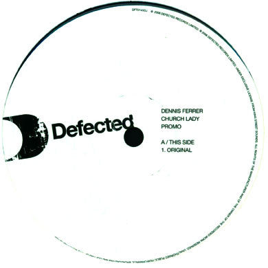 Dennis Ferrer: Church Lady 12""