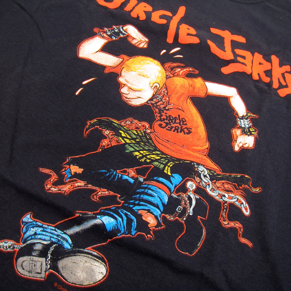 Circle Jerks: Skank Man Shirt - Black